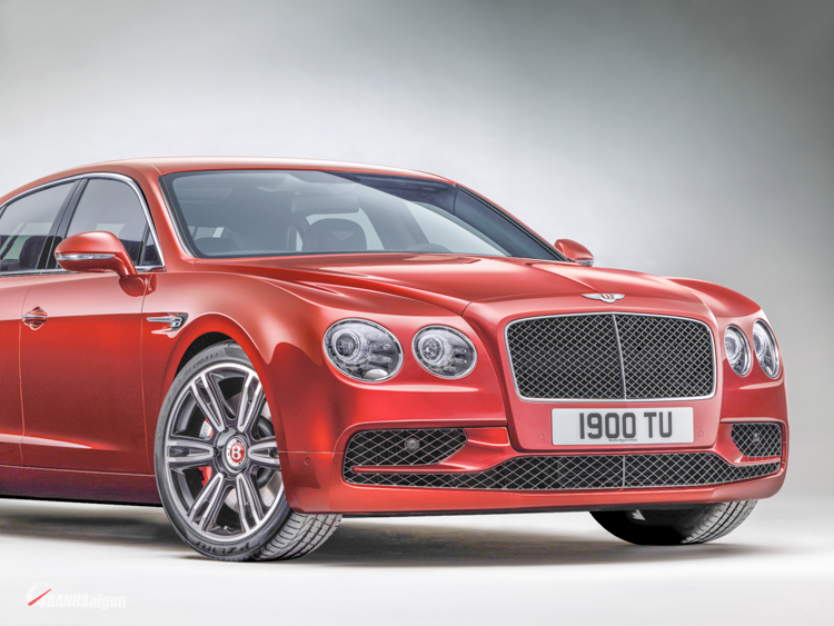Bentley Flying Spur V8 S mẫu Sedan siêu sang ra mắt tại Landmark 81